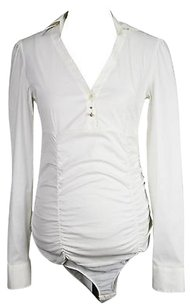 Toy G Womens Long Sleeve Top white