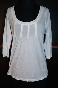 Other Rebecca Besson Cottonmodal Long Sleeve Top Whites