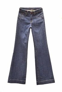 Other Town Angel High Rise Dark Wash 25 160978c Tag Trouser/Wide Leg Jeans