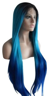 Other Turqoise Blue Lace Front Wig 18-20 inches!!