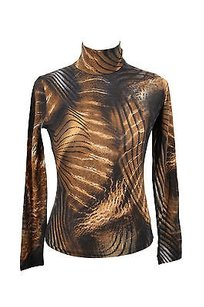 Angelo Marani Womens Long Top brown
