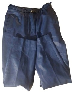 Other Vintage 1980s Retro Trouser Boot Cut Pants Electric Blue