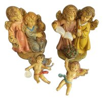 Other Vintage Christmas Angels Signed Italy Lot of 4