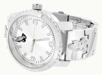Other Praying Hands Design Watch White Dial Water Resistant Stainless Steel Back Jojo