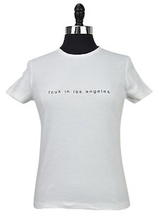 Other Fcuk French Connection Womens Fcuk In Los Angeles Size T Shirt White