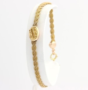 Other Womens Flat Rope Chain Bracelet 8.25 - 14k Yellow Gold 7.9g
