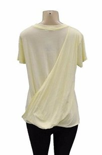 Stateside Lemon Scoop Neck T Shirt Yellow