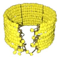 Other Yellow stretch cuff bracelet