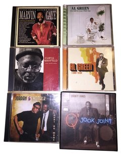 Other Vintage Soul 6- CD Set; Marvin Gaye, Curtis Mayfield, Jordan & Bobby Womack, Al Green & Collector's Edition Quincy Jones [ SisterSoul Closet ]
