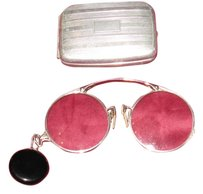 OXFORD/Ketcham & McDougall OXFORD Pince-Nez 1/10 12K GF with Drop Pendant by Ketcham & McDougall