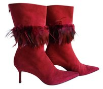 Pancaldi Sexy High Heel Red Boots