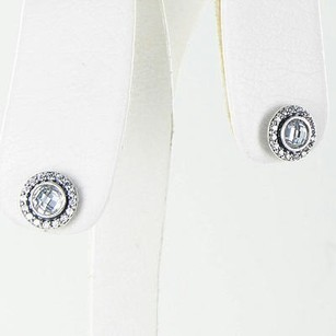 PANDORA Pandora 290553cz Earrings Brilliant Legacy Clear Cubic Zirconia 925