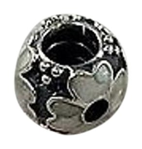 PANDORA Pandora 925 Sterling Silver Clear Flower Charm