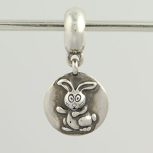 PANDORA Pandora Bead Charm - Sterling Silver 790882 Rabbit Retired Dangle Zodiac Ale