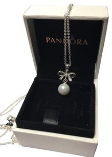 PANDORA Pandora delicate sentiments Pearl necklace in original box