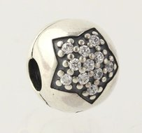 PANDORA Pandora Youre A Star Cubic Zirconia Charm - 925 Sterling Silver 791056cz
