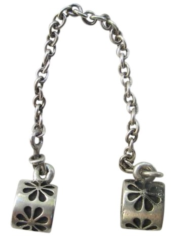 9eb052e20 ... uk pandora pandora sterling silver daisy flower safety chain charm  790385 c1abe 5fae6 france 2018 authentic ...