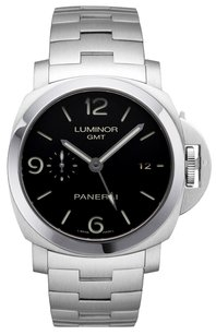 Panerai PANERAI Steel Luminor 1950 GMT Watch PAM329