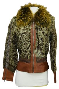 Paolo Santini Brown Leather Jacket