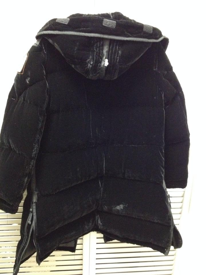 Parajumpers Black Velvet Down Long Bears Xl Puffy/Ski Coat Size 16 (XL, Plus 0x) - Tradesy