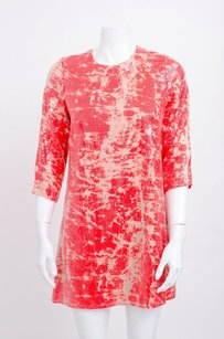 Parker short dress Pink Red Coral Tie Dye on Tradesy