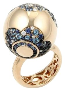 Pasquale Bruni Pasquale Bruni Songi Doro 4.09ct Diamond Gemstone Ring In 18k Rose Gold