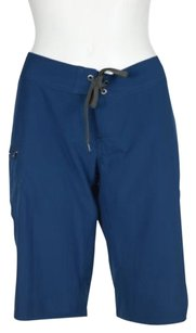 Patagonia Womens Solid Shorts Blue
