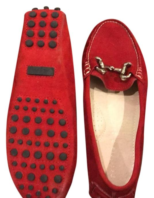 Patricia Green Red Milly Flats Size EU 39 (Approx. US 9) Regular (M, B)
