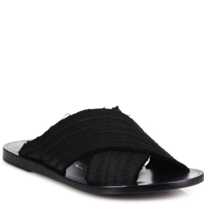 clearance release dates marketable sale online Pedro Garcia Satin Crossover Sandals sale best sale clearance wholesale price 82AdM3B