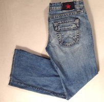 People's Liberation Peoples Star Flap Boot Cut Jeans