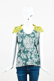 Peter Pilotto Green Yellow Top Multi-Color