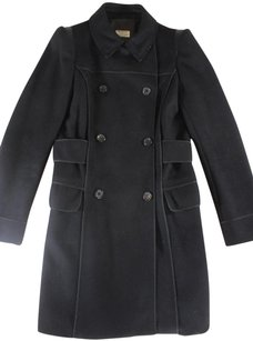 Philosophy By Alberta Ferretti 38 Black Di Paz Coat