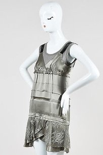 Philosophy di Alberta Ferretti short dress Silver on Tradesy