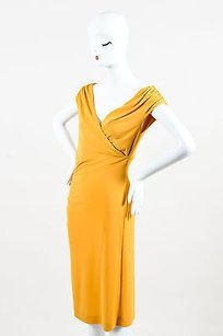 Philosophy di Alberta Ferretti short dress Yellow on Tradesy
