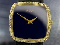 Piaget Piaget 9772 Mens Diamond 18k Solid Gold Manual Wind Luxury Dress Watch 6610