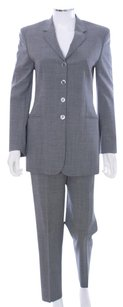 Piazza Sempione Wool Silk Blend 2 PC Pant Suit