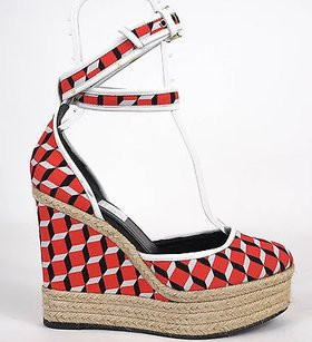 Pierre Hardy Red / White / Black Platforms