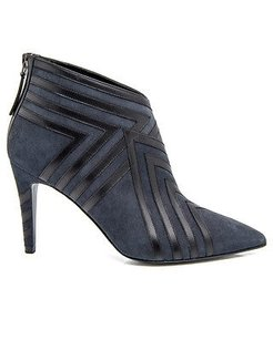 Pierre Hardy Suede Navy Blue / Black Boots