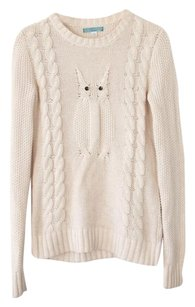 Pim + Larkin Owl Cable Knit Sweater