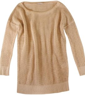 Pinko Knit Cotton Peach Gdl Sweater