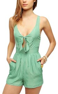 Pins and Needles Polka Dot Tie Crisscross Strap Dress