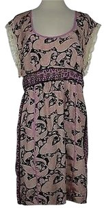 Plenty by Tracy Reese Womens Pink Paisley Dress