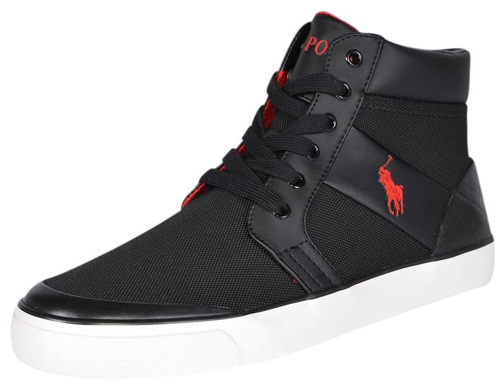 Polo Ralph Lauren Sneakers Men\u0027s Sneakers Sneakers Men\u0027s Black Athletic ...