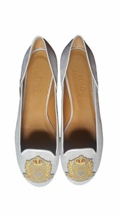 Polo Ralph Lauren Suede Leather Gray grey Flats