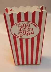 Popcorn Boxes Favors Pop Corn Carnival Wedding Can