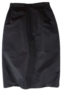 Prada 38 Black Blend Fit Ias Skirt