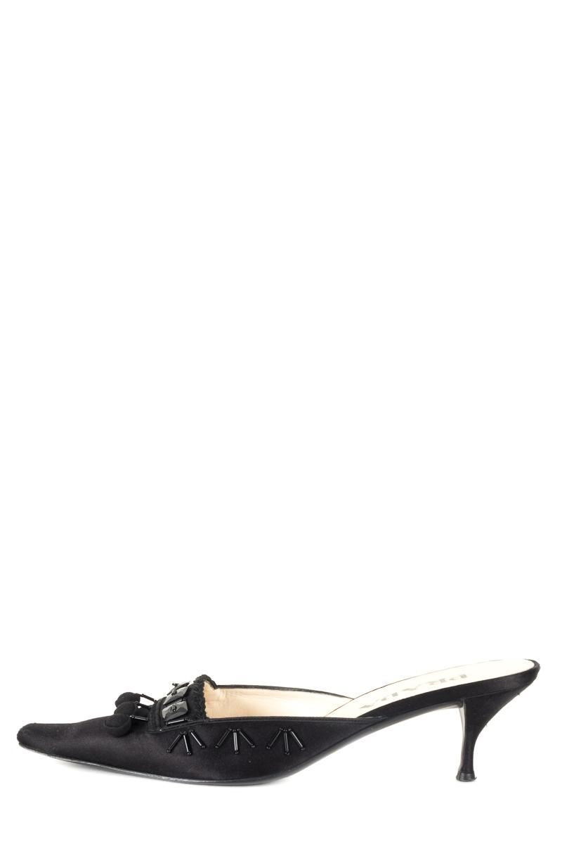 Prada Satin Square-Toe Mules affordable cheap price cheap real authentic syH7q97