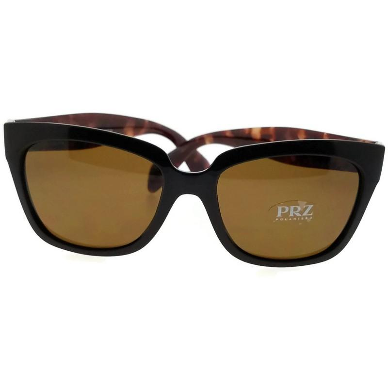 1783d749ac real prada linea rossa polarized sunglasses unisex 7b76c af7c8  greece prada  pr07ps dho5y1 square women brown frame brown lens polarized sunglasses  34b90 ...