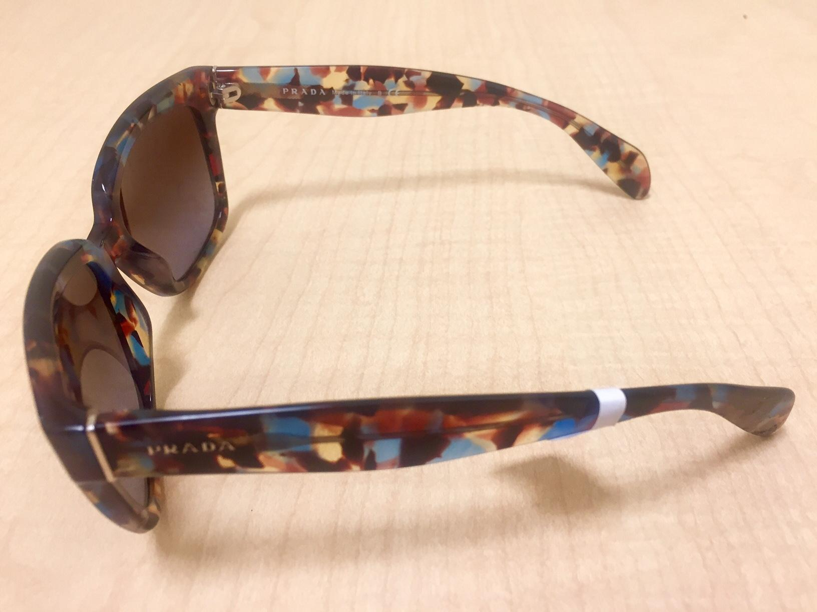 279b7f10d2f6 ... shopping prada confetti new with tags wayfarer sunglasses tradesy 35456  3ecf2