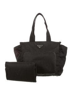 Prada Black Diaper Bag